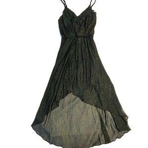 NWT BCBGeneration Asymmetric Hem Black Dress